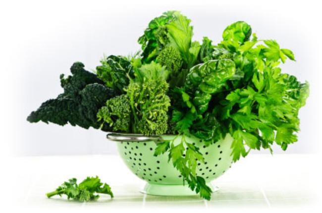 خواص سبزیجات برگدار برای دیابت
