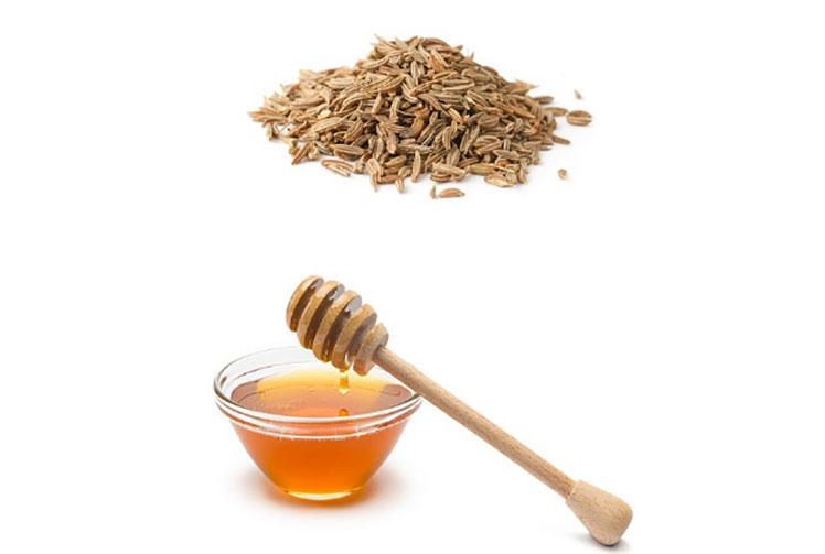 مخلوط پودر زیره و عسل