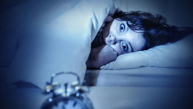 عکس فردی که دچار بختک یا فلج خواب شده