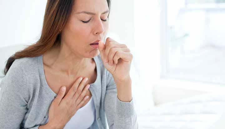 عکس فردی با عفونت تنفسی